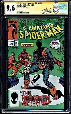 Amazing Spider-man # 289 Cgc 9.6 White Ss Stan Lee 1st App New Goblin 1203277030