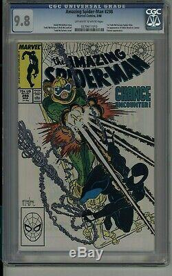 Amazing Spider-man #298 1st Eddie Brock Venom Mcfarlane Cgc 9.8 White Pages