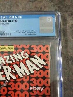 Amazing Spider-man 300 CGC 9.2 NM White Pages