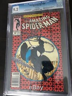 Amazing Spider-man 300 CGC 9.2 White Pgs. 1st Venom News Stand Variant