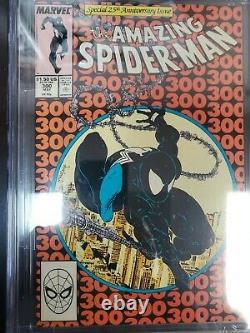 Amazing Spider-man #300 Cgc 9.0 White Pages // Origin/1st Full Venom