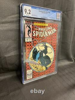 Amazing Spider-man #300 Cgc 9.2 White Pages First Appearance Of Venom