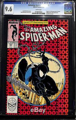 Amazing Spider-man #300 Cgc 9.6 White Origin & 1st Full App Of Venom #0218079002