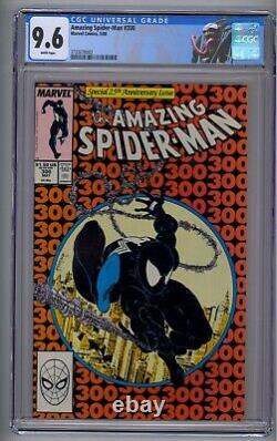 Amazing Spider-man #300 Cgc 9.6 White Pages! 1st Full Venom