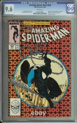 Amazing Spider-man #300 Cgc 9.6 White Pages // Origin/1st Full Appearance Venom