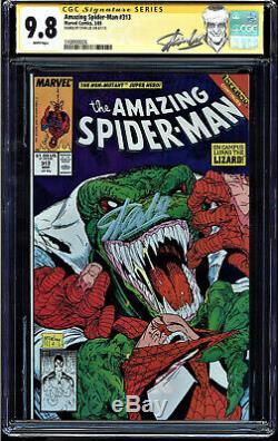 Amazing Spider-man #313 Cgc 9.8 White Ss Stan Lee Highest Cgc Graded #1168900026