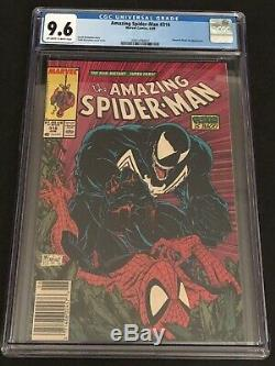 Amazing Spider-man #316 Cgc 9.6 Todd Mcfarlane Newsstand White Pages