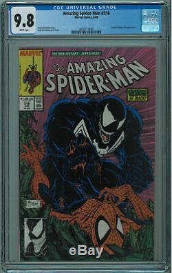 Amazing Spider-man #316 Cgc 9.8 1st Venom Cover High Grade White Pages 1989