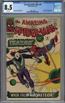 Amazing Spider-man #36 Cgc 8.5 White Pages 1966