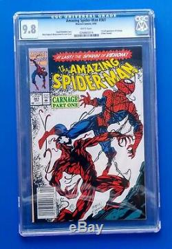 Amazing Spider-man #361 Cgc 9.8. First Full Carnage! White Pg Classic Slab
