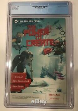 Amazing Spider-man #4 Ramos 125 Variant Cgc 9.8 White Pages 1st App Of Silk