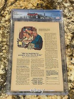 Amazing Spider-man #50 Cgc 7.0 Ow- White Pages 1st Kingpin Huge High End Mcu Key