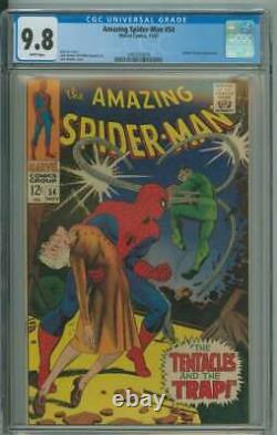 Amazing Spider-man #54 Cgc 9.8 White Pages // Doctor Octopus Appearance