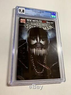Amazing Spider-man 569 Cgc 9.8 Variant Cover White Pages