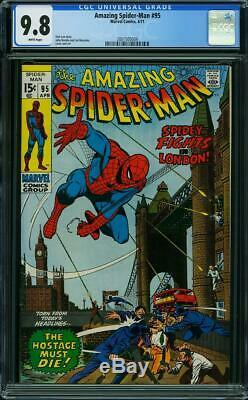 Amazing Spider-man #95 Cgc 9.8 White Pages Highest Graded Cgc #2001505004