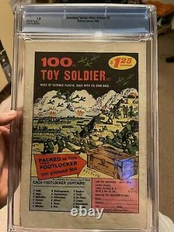 Amazing Spider-man Annual #1 Cgc 1.8 WHITE PAGES. 1st Appearance Sinister Six