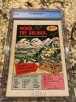 Amazing Spider-man Annual #1 Cgc 5.0 Rare White Pages 1st Sinister Six Mcu Movie