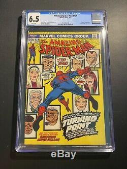 Amazing Spiderman 121 CGC 6.5 White