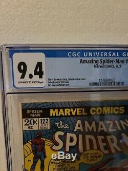 Amazing Spiderman #122 Cgc 9.4 Off White To White Marvel 7/23