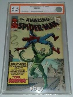 Amazing Spiderman #20 Egc 5.5 Cream To Off White Pages 1st Scorpion Not Cgc (sa)