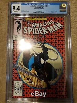 Amazing Spiderman 300 CGC 9.4 White Pages 1st Appearance Of Venom MCU Marvel