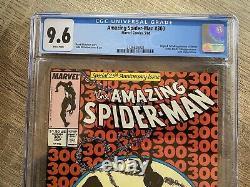 Amazing Spiderman 300 CGC 9.6 1st Full Venom App White pages