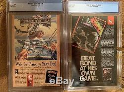 Amazing Spiderman #300 and #361 CGC 9.8 White pages Venom Carnage First Stan Lee