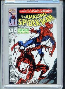Amazing Spiderman #361 CGC 9.8 White Pages 1st Full Carnage
