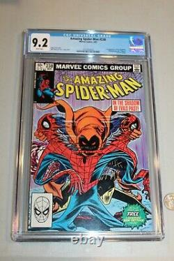 CGC 9.2 Amazing Spider-man 238 1st APP Hobgoblin with Tattooz! White Pages HTF NM
