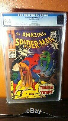 CGC 9.4 Amazing Spider-Man # 54 (11/67) White pages