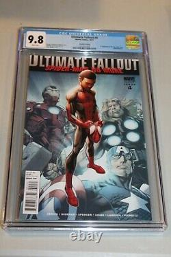 CGC 9.8 White Pages Ultimate Fallout #4 2011 1st app Miles Morales 2nd Print HTF