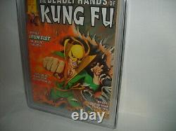 DEADLY HANDS OF KUNG FU 19 CGC 8.5 December 1975 1st Appearance White Tiger MOKF