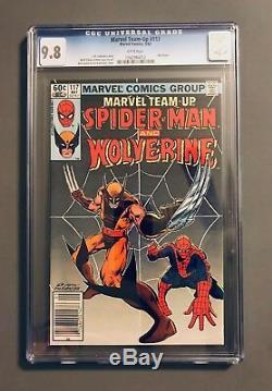 MARVEL TEAM-UP #117 CGC 9.8 WHITE PAGES NM/M Wolverine App MARVEL SPIDER-MAN