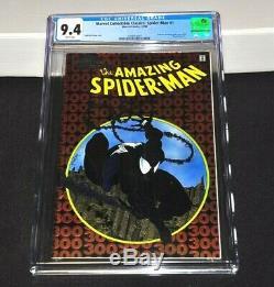Marvel Collectible Classics Spider-Man 1 CGC 9.4 White Amazing 300 Chromium