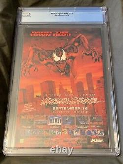 Marvel Comics Cgc 9.8 Web Of Spider-man #118 11/94 White Pages