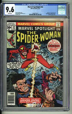 Marvel Spotlight 32 1st Spider-Woman Hot Book CGC 9.6 White