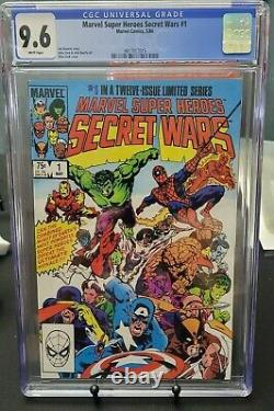 Marvel Super Heroes Secret Wars #1 (1984) CGC 9.6 White Pages