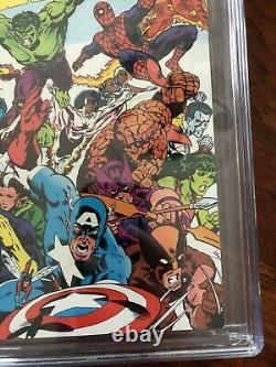 Marvel Super Heroes Secret Wars 1 CGC 9.8 NEWSSTAND RARE! WHITE PAGES