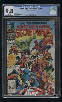 Marvel Super Heroes Secret Wars #1 Cgc 9.8 White Pages 1984 Comic Kings