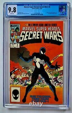 Marvel Super Heroes Secret Wars #8 (1984) CGC 9.8 WHITE VENOM! Symbiote