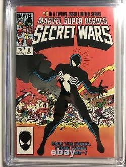 Marvel Super-Heroes Secret Wars #8 CGC 9.8 Nice NM/M White Pages Symbiote Venom
