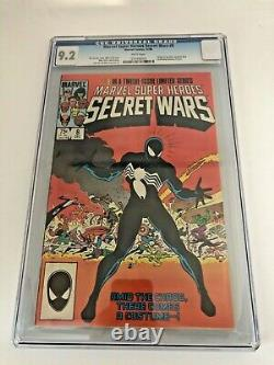 Marvel Superheroes Secret Wars 8 CGC 9.2 White Pages Origin of the Symbiote