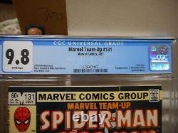 Marvel Team-Up 131 cgc 9.8 1st appearance of the White Rabbit WHITE pg Spiderman
