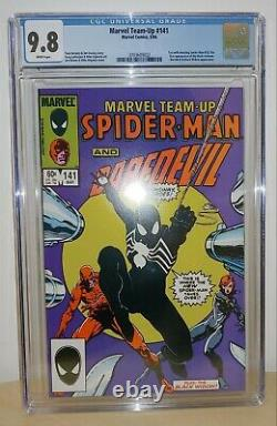 Marvel Team-Up #141 CGC 9.8 White Pages 1st Black Costume