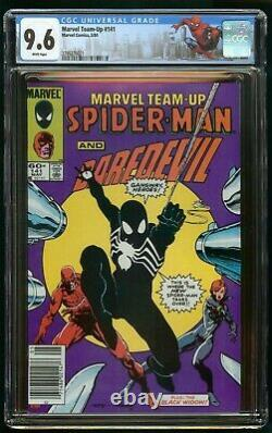 Marvel Team-up #141 (1984) Cgc 9.6 Newsstand White Pages