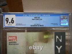 NYX 3 cgc 9.6 Marvel 2004 1st appearance of X-23 Laura Kinney WHITE pgs X-Men