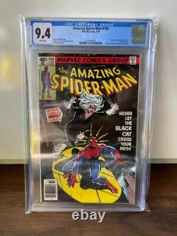 (SHIPS 12/7) Amazing SpiderMan #194 KEY 1st Black Cat CGC 9.4 NM WHITE PAGES