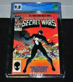 Secret Wars 8 CGC 9.8 White Pages 1984 Origin Black Costume Amazing Spider-Man