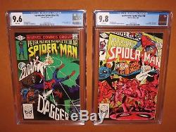 Spectacular Spider-Man 64 69 CGC 9.6 9.8 WHITE pages! Cloak & Dagger! 12 HD pix