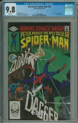 Spectacular Spider-man #64 Cgc 9.8 White Pages